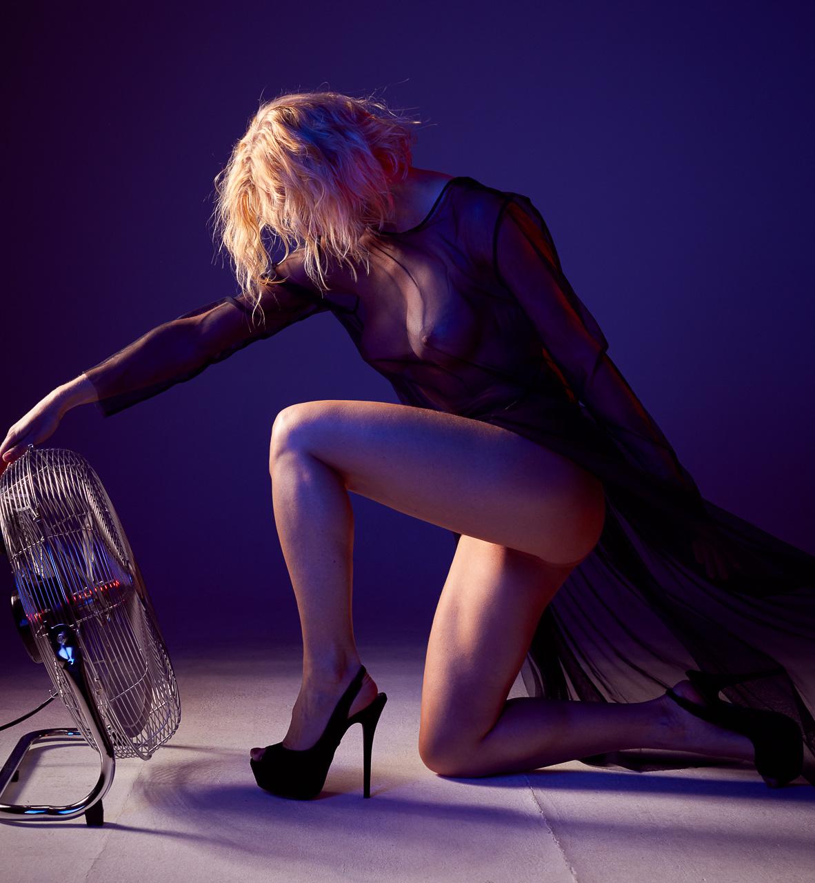 Fotograf München Dessous Glamour Portrait Fotostudio Sexy