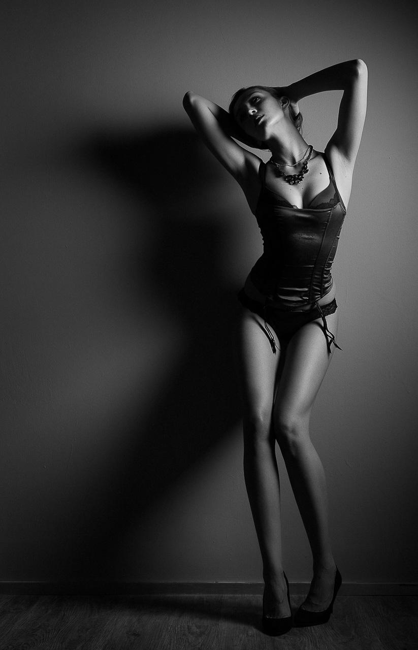 Fotograf München Dessous Glamour Portrait Fotostudio