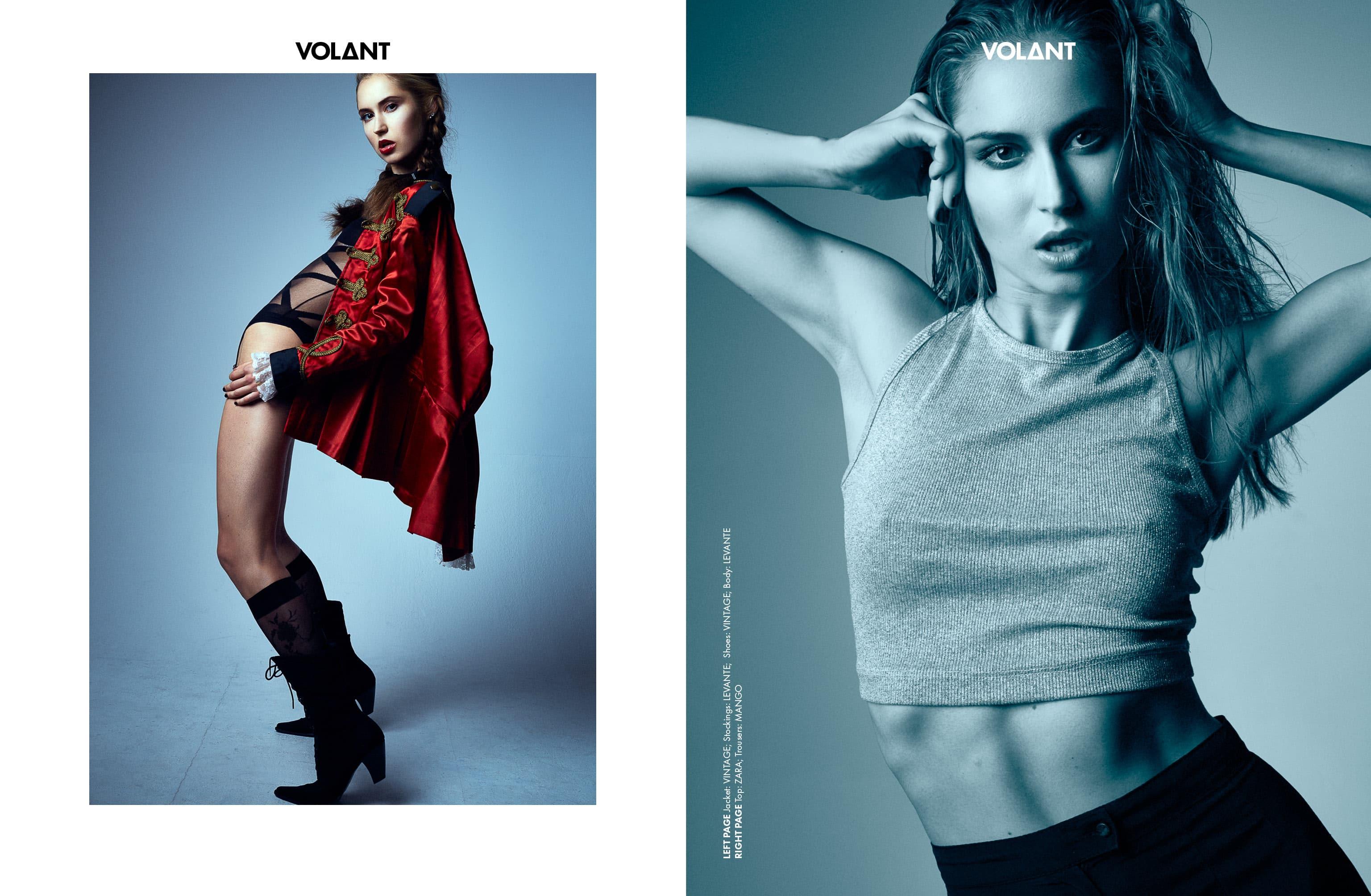 Fashion Fotograf München Studio Model Fotoshooting