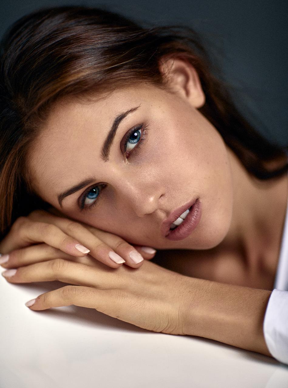 Beauty Fotoshooting München Model Sedcard
