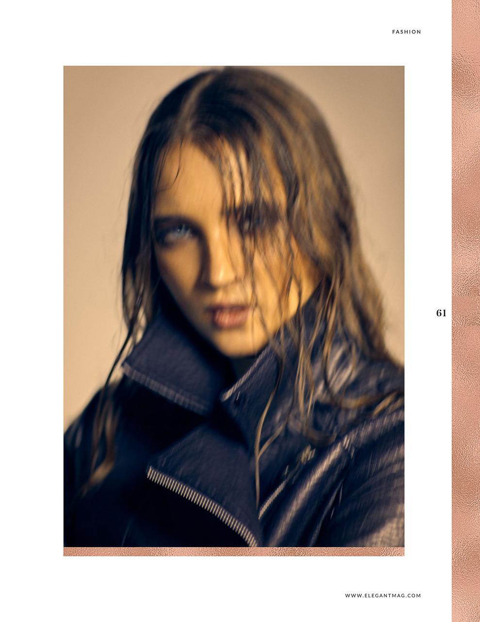 Beauty Fotoshooting München Portrait Editorial